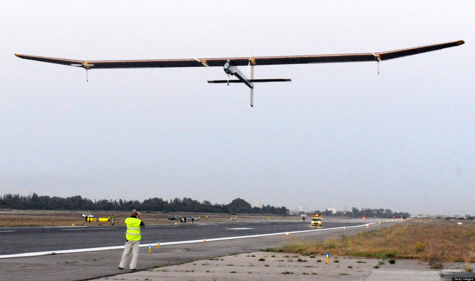 The Swiss-made solar-powered plane, Sola